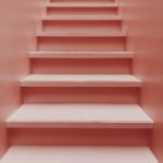Pink Staircase - Free Mobile Background