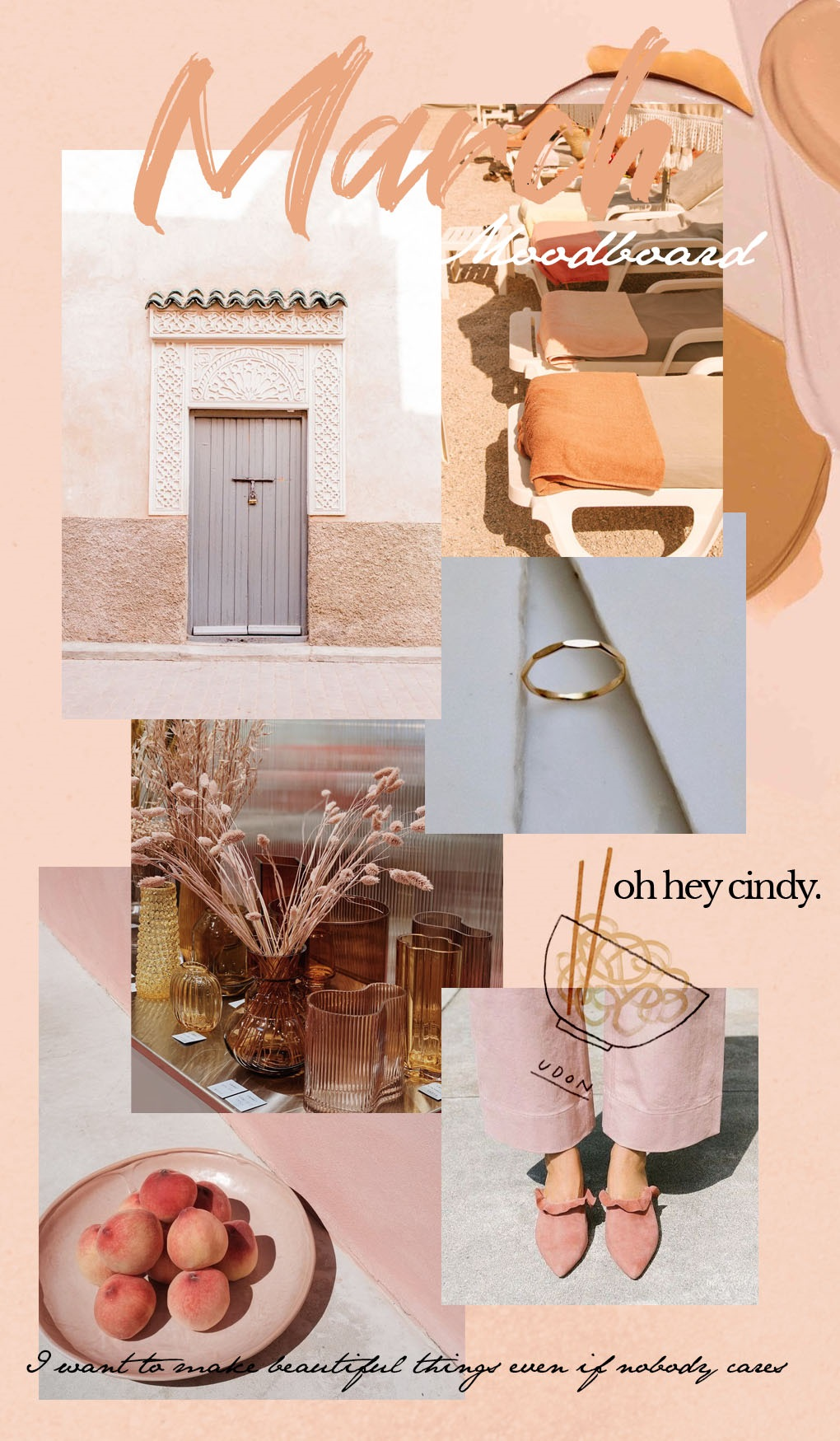 March mood board