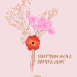 Oh Hey Cindy - Practice Gratitude Illustration