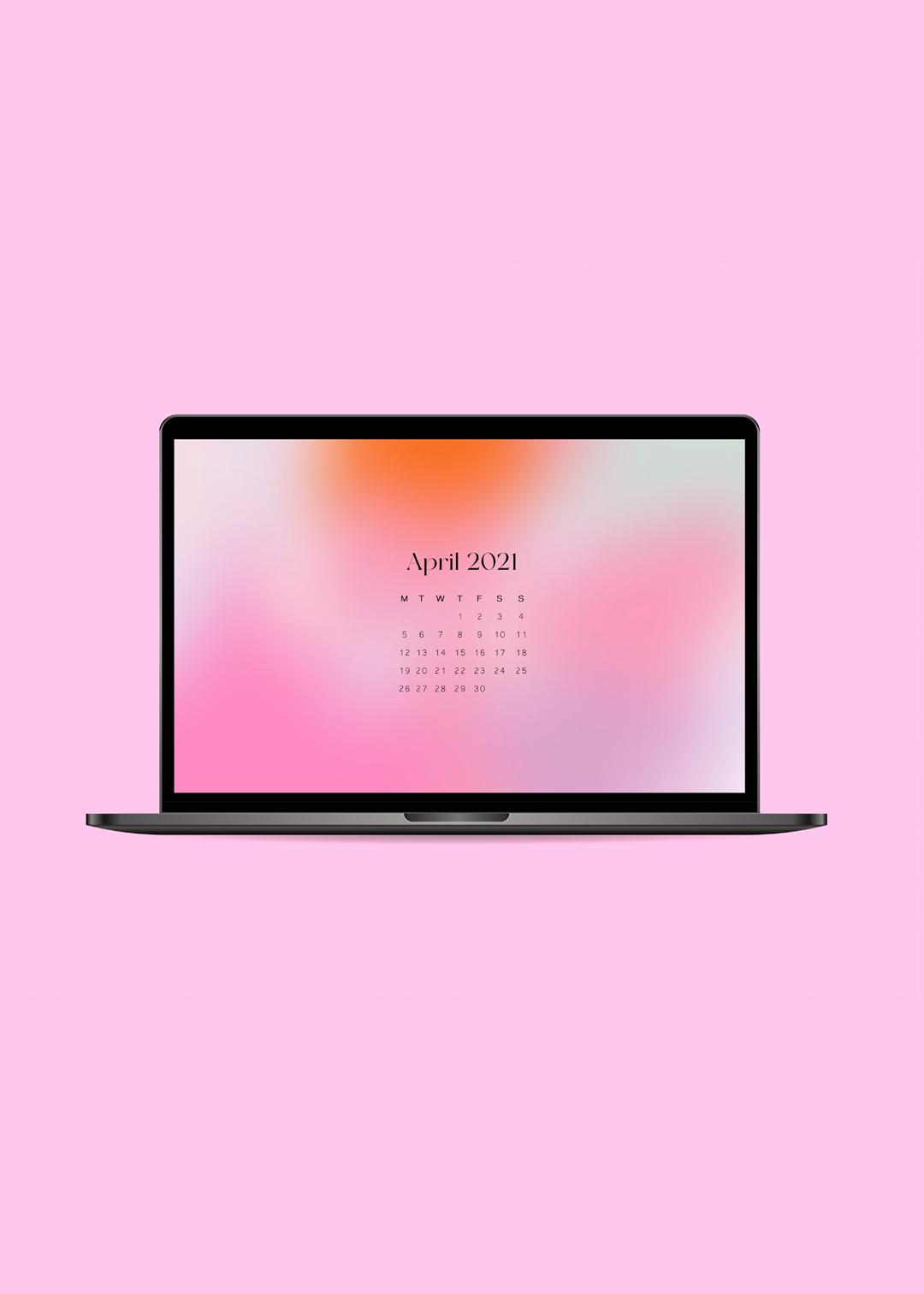 Oh Hey Cindy - April 2021 Free Desktop Wallpaper