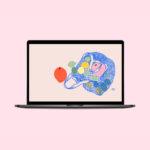 Oh Hey Cindy - June 2021 Free Desktop Wallpaper