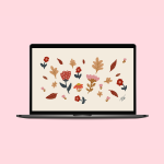 Oh Hey Cindy - September 2021 Free Wallpaper Mockup - Autumn
